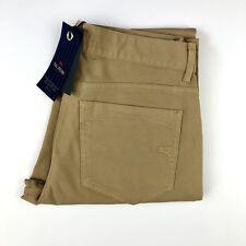 """PAL ZILERI CONCEPT Mens Slim Fit Cotton Beige Casual Chino Khaki Pants Sz 30"""""""