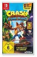 Nintendo Switch Spiel Crash Bandicoot DHL Paketversand NEUWARE