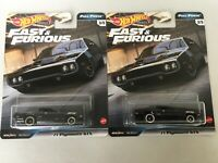 2020 Hot Wheels Fast and Furious Full Force '71 Plymouth GTX  Lot of 2