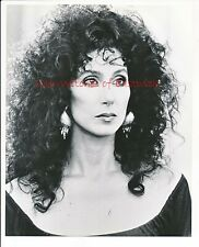 """Cher-Witches of Eastwick 8"""" x 10"""" Black & White Photo-1987-#387A"""