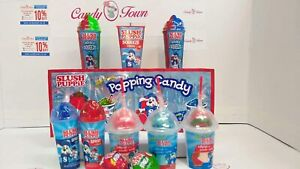 American Slush Puppie Candy Box Hamper by Candy Town 11 Items Gift CT11