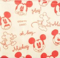Disney Mickey Mouse Red Dish Towel / Cloth