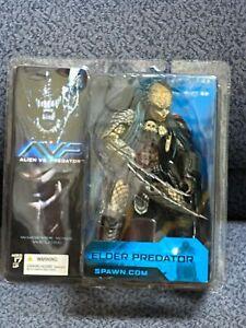 2004 McFARLANE Toys AVP Alien vs Predator ELDER New in Package - TOUGH
