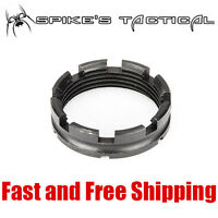 Spikes Tactical Lightweight Castle Lock Nut for 5.56/223/308 Tube- Made in USA