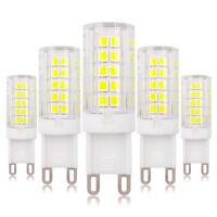 5pcs G9 Dimmable LED Light Bulb 64-2835 Lamp Ceramics Lights 5W 120V Highlight