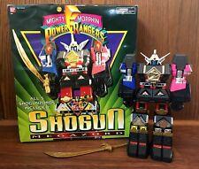 Deluxe Shogun Megazord Vintage Bandai Power Rangers Zord w/ Original Box 1995