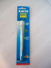 X-ACTO X3209 POCKET CLIP RETRACTABLE KNIFE COLTELLO TASCABILE LAMA RETR.