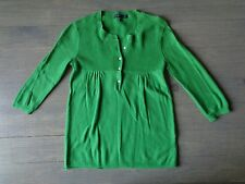 Girls Gap Sweater dress party size XS 4T/5T Green Girl Clothes outwear
