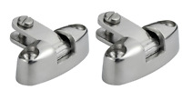 2 x Boat Canopy Fitting Swivel Base Bimini  Deck Mount 316 Stainless Steel