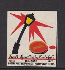 403185/ Reklamemarke - 100 Jahre Stadt-Sparkasse Bielefeld - 1925 - **