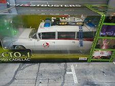 CADILLAC Ambulance Ecto 1 Baujahr 1959 Film Ghostbusters ERTL Autoworld 1:18