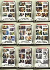 The Complete STAR TREK Voyager Adventures in the Holodeck Insert SET H1 - H9