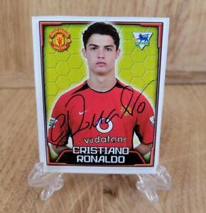 Merlin FA Premier League 2004 Cristiano Ronaldo Rookie Sticker 408 from  book