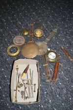 Konvolut Uhrenpendel Erstatzteile Wanduhren Regulatoren  aus Uhrmachernachlass
