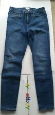 J. Crew blue toothpick jeans Womens Size 28 stretch fit,  length 30
