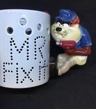 Taz Mr Fix It Cup Mug 3D Tasmanian Devil Warner Bros Looney Tunes Figurine