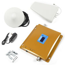 2G 3G 4G CDMA PCS Mobile Phone Signal Booster Amplifier Repeater 1800+2100MHZ