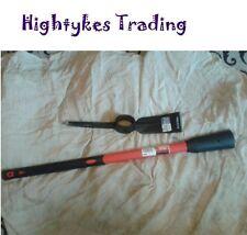 5lb Pick Mattock Steel Head pick axe 36in Heavy Duty Fibreglass Handle shaft