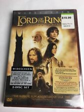 The Lord of the Rings: The Two Towers (DVD, 2003, 2-Disc Set, Widescreen) New