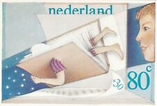 Netherlands 1980 80+30c Kinderpostzegel Maximum Card Unused VGC