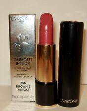 Lancome L' Absolu Rouge  Lipstick ~ 365 Brownie (Cream) NIB