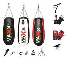 Maxx 3FT Tear shape punch bag, body bag angled boxing bag Set heavy filled bag