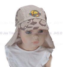 Girl Boy Toddler Preschool Baseball Cotton Backflap Legion Legionnaire Sun Hat