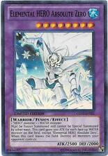 *** ELEMENTAL HERO ABSOLUTE ZERO *** SUPER RARE MINT/NM GENF-ENSE1 YUGIOH!