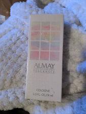 Rare vintage fragrance Almay cologne splash hypo-allergenic 2.5 fl Oz 98%