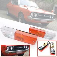 FRONT PARKING TURN SIGNAL LAMP LIGHT FIT DATSUN BLUEBIRD 510 710 160J 1970-73