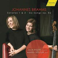 Julia Hagen - Brahms: Sonatas 1 and 2 [Julia Hagen; Annika Treutler] [CD]