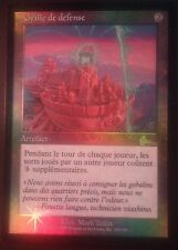Grille de défense Urza PREMIUM / FOIL VF - French Defense Grid - Magic mtg NM