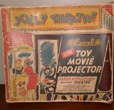 """1947 EXCEL """" JOLLY THEATRE """" 16MM PROJECTOR -STAGE SCREEN FILM"""