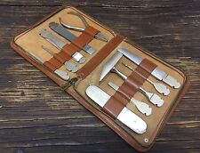 Vintage RARE ALKER Pocket Tool Kit -Multi Tool Set - Made in Germany US-Zone