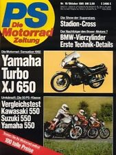 PS8110 + KAWASAKI Z 550 vs. SUZUKI GS 550 Katana vs. YAMAHA XJ 550 + PS 10/1981