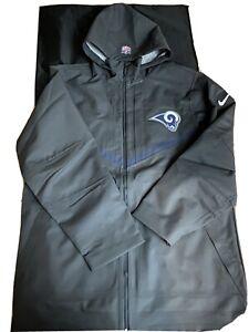 Nike NFL LA RAMS TEAM ISSUED Coaches Storm fit winter on field rain Jacket Sz 3X