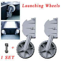 Folding Boat Dinghy Inflatable RIB Wheels Launching with Screw Bolts