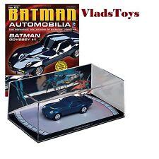 Eaglemoss 1:43 Automobilia Batmobile Batman Odyssey #1 w/Magazine #63