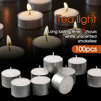 100pcs Tea Light Candles Bulk 9 Hour Tea Lights Tealight Tealights Unscented