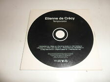 Cd    Etienne De Crecy  ‎– Tempovision