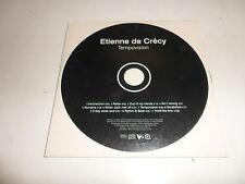 Cd    Etienne De Crecy  – Tempovision
