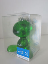 "Koziol ""Curly"" Paper Clip Dispenser - Transparent Green -  BNIB"