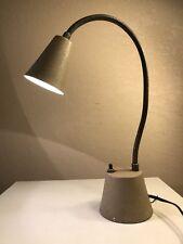 Vintage Mid Century Modern Gooseneck Task Desk Lamp Industrial