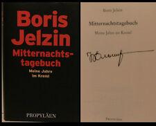 Boris Yeltsin President Russia SIGNED SIGNED AUTOGRAPH SIGNATURE AUTOGRAPH