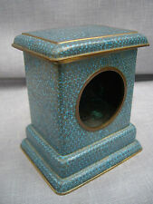 ANTIQUE CHINESE CLOISONNE POCKET WATCH HOLDER OR CLOCK CASE