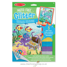 Melissa and Doug Mess Free Glitter Kids Art - Under water scenes