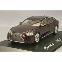 Kyosho Original 1/43 Lexus LS500h Deep Red KS03686SA w/ Tracking NEW