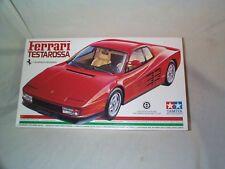 1/24- Tamiya-Ferrari Testarossa-Full detail kit-1986 issue-New in the Box