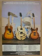 vintage magazine advert 1989 HERITAGE GUITARS