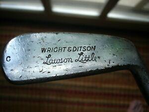 Scarce 1930's LAWSON LITTLE PUTTER Coated Shaft All Original